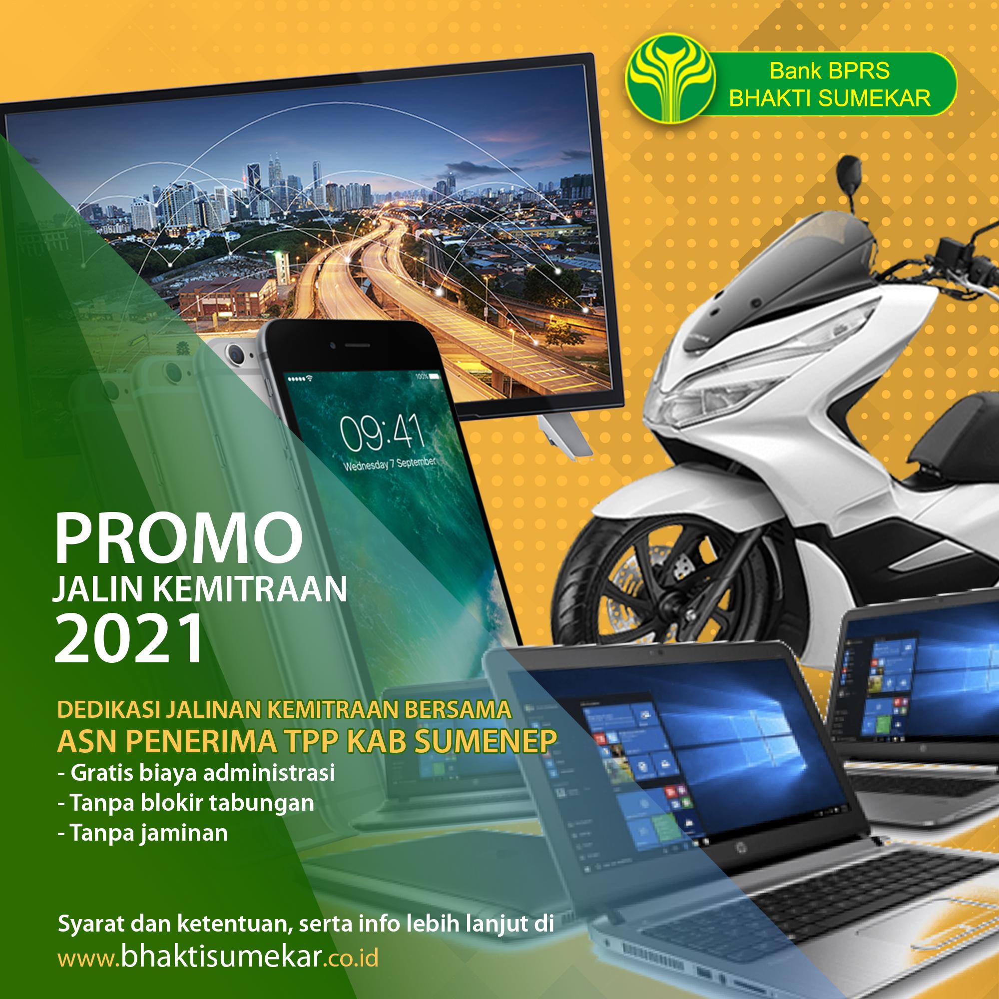 Promo Jalin Kemitraan 2021 ASN Penerima TPP Kabupaten Sumenep